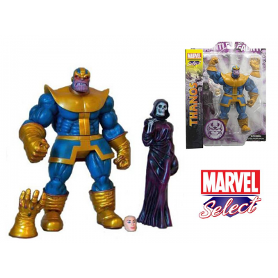 Action figure Thanos Special collector edition Marvel select