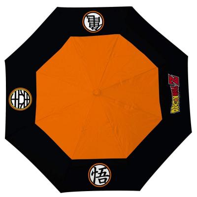 Ombrello Dragon Ball Z Goku symbols Umbrella ABYstyle
