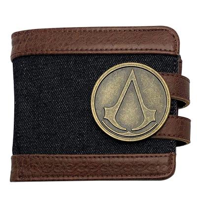Portafoglio Assassin's Creed metal crest logo Premium Wallet ABYstyle