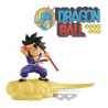 Statua Dragon Ball Son Goku Young on Speedy Cloud version B blue 13cm Banpresto