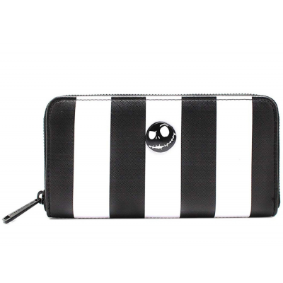 Portafoglio Disney Nightmare Before Christmas Jack Striped Wallet Loungefly