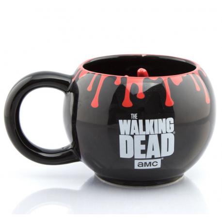 Tazza in ceramica The Walking Dead Zombie Walker hand 3D mug GBeye