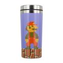 Tazza da viaggio thermos Nintendo Super Mario Bros travel mug 18 cm Paladone