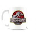 Tazza in ceramica Jurassic Park Metallic logo coffee mug 10 cm ufficiale