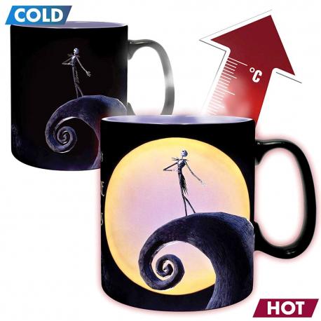 Tazza Nightmare before Christmas Jack & Moon Heat Change Mug ABY