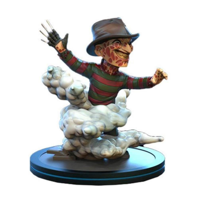 A Nightmare on Elm Street Q-Fig Freddy Krueger Diorama figure Quantum Mechanix