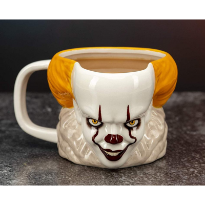 Tazza in ceramica IT (2017) Pennywise Clown 3D Shaped Mug Paladone