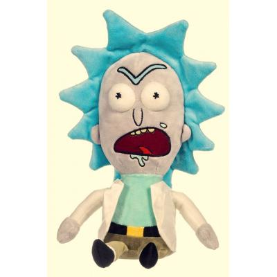 Peluche Rick & Morty - Rick Sanchez screaming 40cm Soft Plush Toy Whitehouse