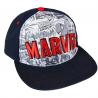 Cappello Marvel Comics superheroes red logo Deluxe Snapback Cap