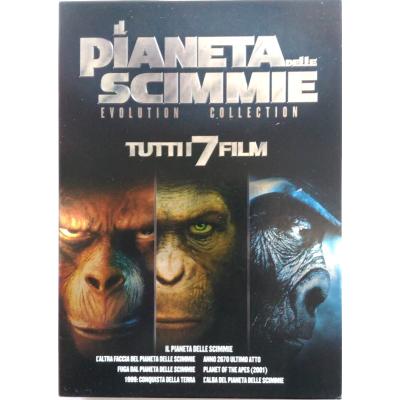 Dvd Il Pianeta delle Scimmie - Evolution Collection 7 dischi