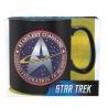 Tazza Star Trek Starfleet command logo Mug