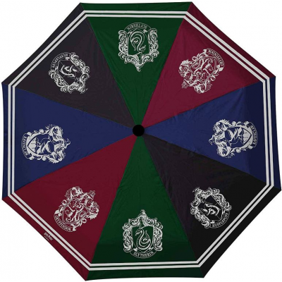 Ombrello Harry Potter Hogwarts houses Umbrella ABYstyle