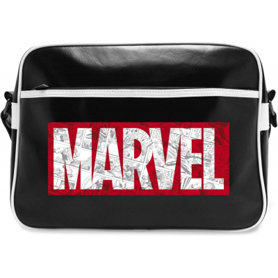 Borsa a tracolla Marvel Comics red logo Messenger Bag ABYstyle