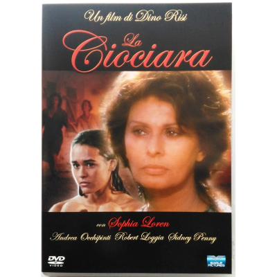 Dvd La Ciociara di Dino Risi con Sophia Loren serie tv 1989 Usato