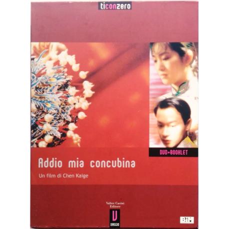 Dvd Addio mia concubina - edit. ticonzero + Booklet