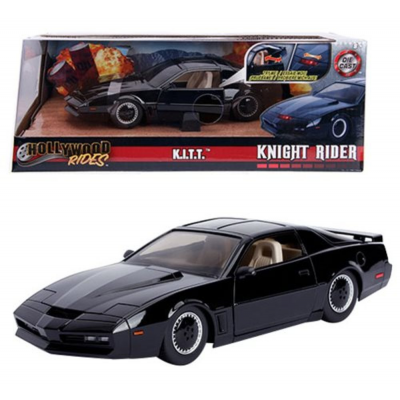 Modellino Knight Rider KITT Metals Die cast 1:24 with lights