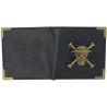 Portafoglio One Piece pirate Skull metal logo Premium Wallet ABYstyle