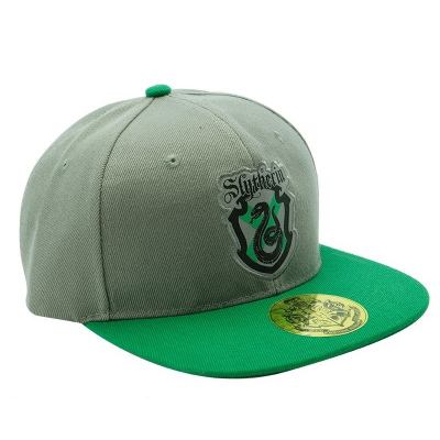 Cappello Harry Potter Slytherin Grey & Green Cap Hat ABYStyle