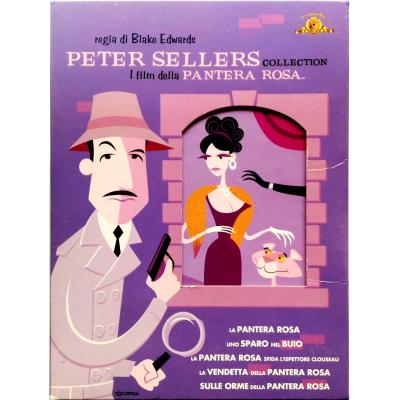 Dvd Peter Sellers Collection - I Film Della Pantera Rosa - cofanetto 6 dischi