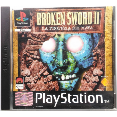 Gioco PSOne Broken Sword II 2 - La profezia dei Maya
