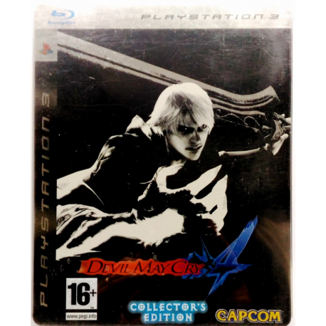Gioco PS3 Devil May Cry 4 - Collector's ed. Steelbook
