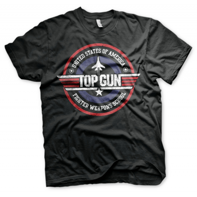 T-shirt Top Gun - Fighter Weapons School maglia Uomo ufficiale by Hybris