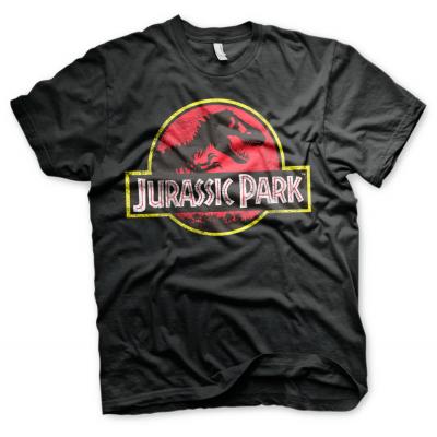 T-shirt Jurassic Park Distressed Logo