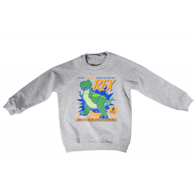 Felpa Toy Story - REX The Dinosaur Kids Sweatshirt