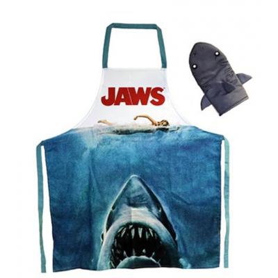 Grembiule da cucina e guanto Squalo Jaws Poster Apron and Oven Mitt SD Toys