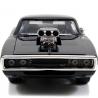 Modellino Fast & Furious Dom Toretto Dodge Charger R/T R/C 1:24