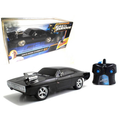 Modellino Fast & Furious Dom Toretto Dodge Charger R/T R/C 1:24