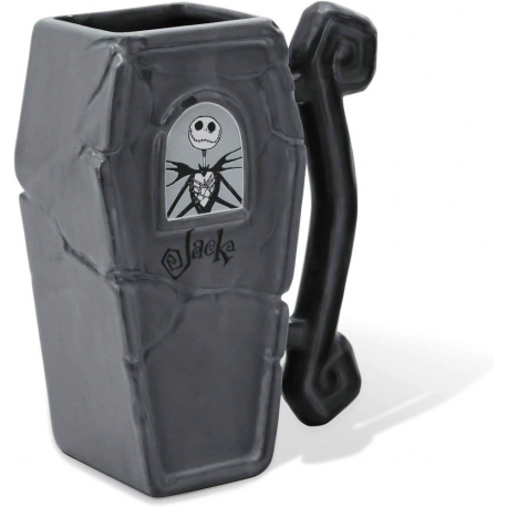 Tazza Nightmare Before Christmas Jack Skellington Coffin Bara 3D Shaped Mug