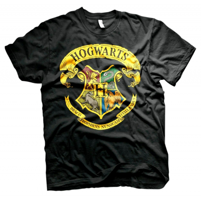 T-shirt Harry Potter - Hogwarts Crest maglia Donna ufficiale by Hybris