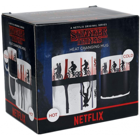 Tazza Stranger Things Upside Down Heat Change Mug Pyramid