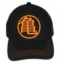 Cappello Dragon Ball Z - Goku metal badge Blue & Orange Cap Hat Animus