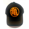 Cappello Dragon Ball Z Kame logo Black & Orange adult Cap