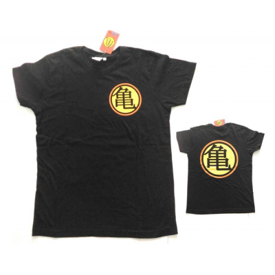 T-shirt Dragon Ball Z Kame House logo maglia black Uomo ufficiale Comic Studio