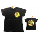 T-shirt Dragon Ball Z Kame House logo maglia black Child ufficiale Comic Studio