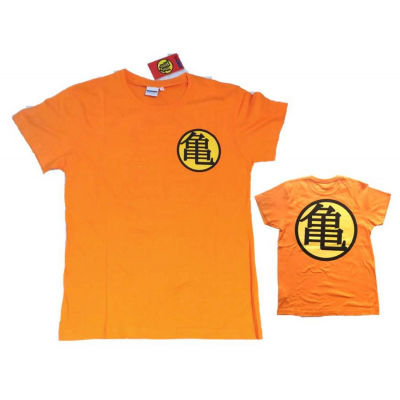 T-shirt Dragon Ball Z Kame House logo maglia orange Child ufficiale
