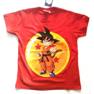T-shirt Dragon Ball Z Son Goku maglia red Child