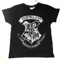 T-shirt Harry Potter - Hogwarts Crest maglia black Child ufficiale Comic Studio