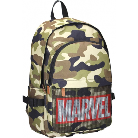 Zaino militare Marvel Comics Retro Dedication Army Backpack