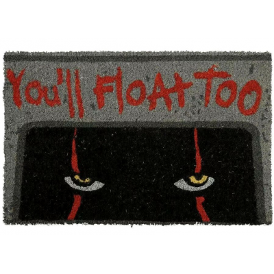 Zerbino It Pennywise You'll Float Too Door Mat Pyramid
