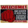 Zerbino One Punch Man Saitama One Knock Door Mat Pyramid