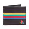 Portafoglio Playstation PS logo Black Bifold Wallet Difuzed