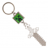 Portachiavi Minecraft - Creeper & Sword Metal Keychain 9 cm Bioworld