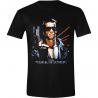T-Shirt The Terminator Poster T-800 Endoskeleton maglia Uomo ufficiale