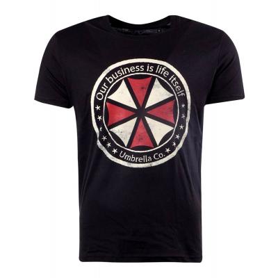 T-shirt Resident Evil Umbrella Corporation logo maglia Uomo Difuzed