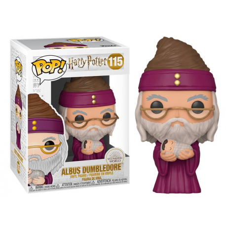 Harry Potter Albus Dumbledore Silente with baby Harry Pop Funko