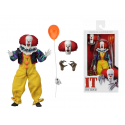 Action figure clothed Pennywise Stephen King's IT The Movie 1990 18cm Neca